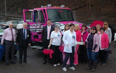 Nick's Towing Supports Images Mammography