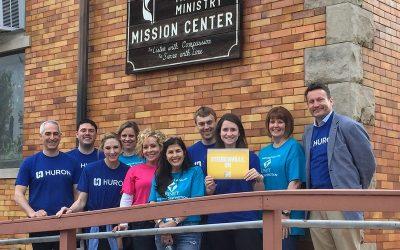 Trinity and Huron Volunteer Team