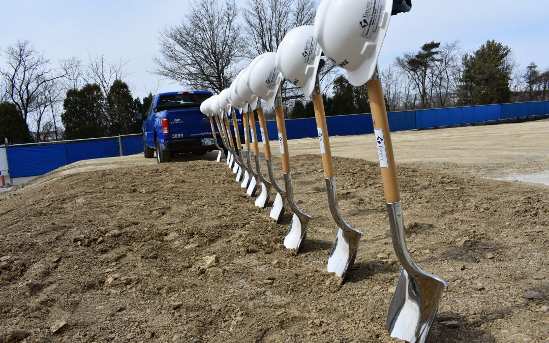 Ground Breaking of New Patient Tower