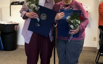 TRINITY HOSPITAL TWIN CITY RECOGNIZES VOLUNTEERS FOR YEARS OF SERVICE