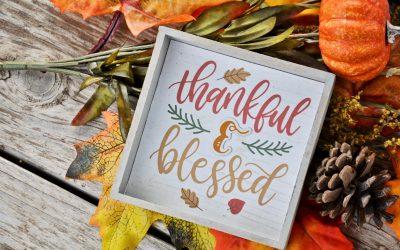 Thankfulness!
